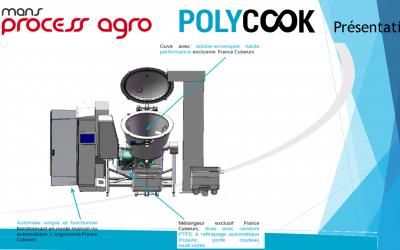 Robot Culinaire Industriel PolyCook