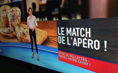 Match Rillettes contre Paté, lequel des deux pour l'apéro ? sur M6